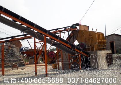 安徽芜湖客户成功引进一帆洗砂机进行日常生产
